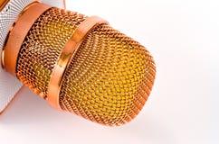 Micrófono del Karaoke con color rosado hermoso del altavoz incorporado nuevo suavemente imagen de archivo