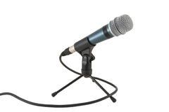 Micrófono en el soporte fotografía de archivo