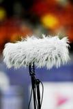Micrófono grande del deporte fotografía de archivo
