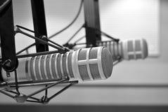 Micrófono grande del diafragma Foto de archivo libre de regalías