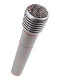 Micrófono metálico Imagen de archivo libre de regalías
