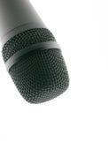 Micrófono para arriba Foto de archivo