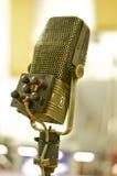 Micrófono profesional del vintage; Abbey Road Studios, Londres Fotografía de archivo