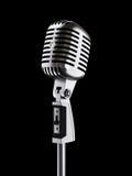 Micrófono retro stock de ilustración