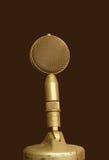Micrófono viejo Foto de archivo