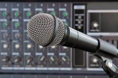 Micrófono vocal Imagenes de archivo
