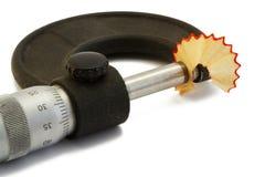 Micrómetro Foto de archivo