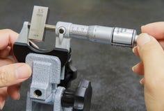 Micrômetro da calibração Fotografia de Stock
