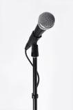 Micrófono con una cuerda Foto de archivo libre de regalías