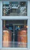 Micro Brewery Stock Photo
