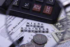 Micro business Stock Photos
