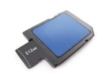 Micro cartão de memória do SD Foto de Stock Royalty Free