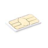 Micro carta SIM Fotografie Stock
