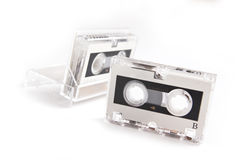 Micro cassette isolated Stock Images
