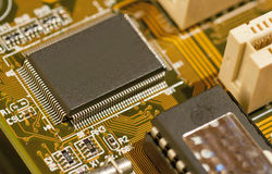 Micro chip Royalty Free Stock Photography