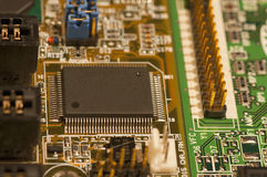 Micro chip Stock Photo