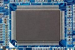 Micro chip immagine stock