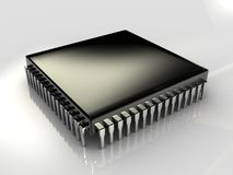 Micro chip Royalty Free Stock Photo