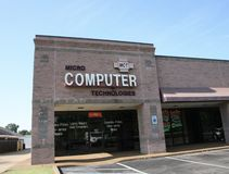 Micro Computer Technologies. Sells and services personal computers, located in Bartlett, TN stock photos