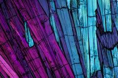 Micro cristalli 7 fotografia stock