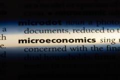 micro-ekonomie royalty-vrije stock afbeelding