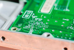 Micro electronics main board Royalty Free Stock Photo