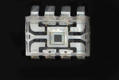 Micro-elektronica en spaanders Royalty-vrije Stock Foto's
