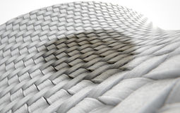 Micro Fabric Weave Stain Stock Image