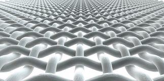 Micro Fabric White Stock Photography