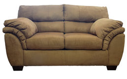 Micro Fiber Loveseat Royalty Free Stock Photo