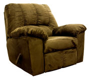Micro Fiber  Rocker Recliner Royalty Free Stock Photography