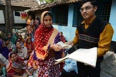 Micro finança de Bandhan Imagens de Stock Royalty Free
