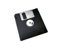 Micro floppy disk  on white Royalty Free Stock Photos