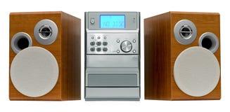 Micro Hi-Fi System Stock Image