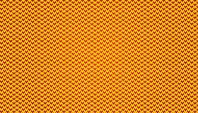 Micro illustrazione semplice del fondo del modello del modello V nel colore giallo e rosso immagini stock libere da diritti