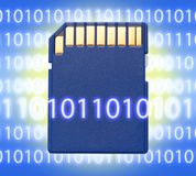 Micro memory card for camera Royalty Free Stock Image
