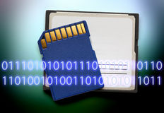 Micro memory card for camera Royalty Free Stock Photo