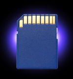 Micro memory card for camera Royalty Free Stock Image