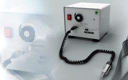 Micro motor dental  equipment Royalty Free Stock Image