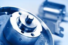 Micro motori Fotografie Stock Libere da Diritti