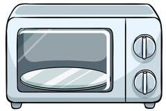 micro-onde illustration de vecteur