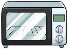 micro-onde illustration libre de droits