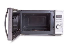Micro-onde ouverte Photos stock
