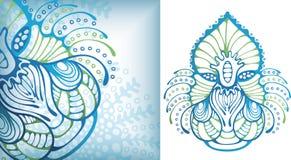 Micro-organisme de durée de mer illustration de vecteur