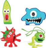 Micro-organismes illustration stock
