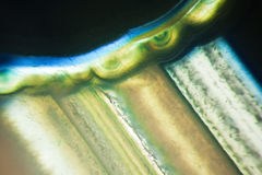 Micro photo of agate stone Stock Images