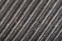 micro photo of feather texture royalty free stock photography