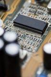 Micro placa de circuito do processador Imagem de Stock