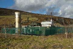 Micro power station. Royalty Free Stock Photo