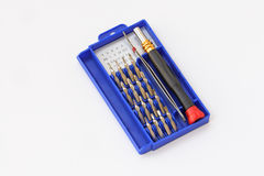 Micro precision screwdrivers set Royalty Free Stock Photo